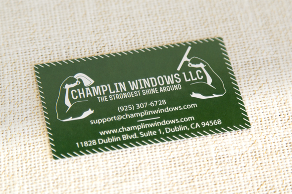 Champlin Windows business card