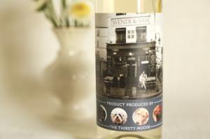 Wedding Wine Label Wendi Sam