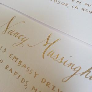Calligraphy Faye Champlin Studio