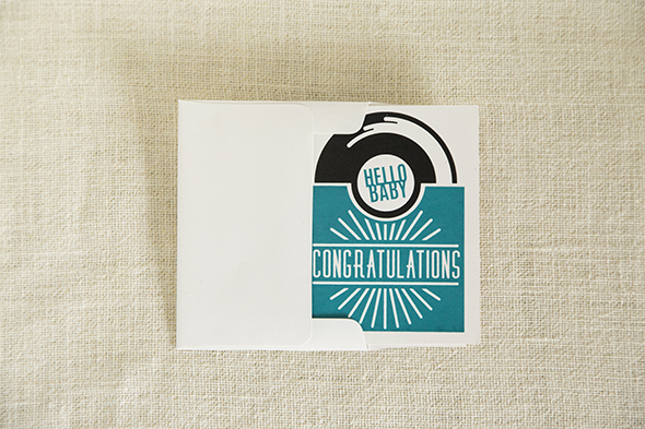 Congratulations New Baby Record Card