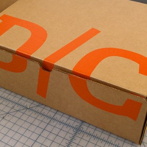 screen printed boxes