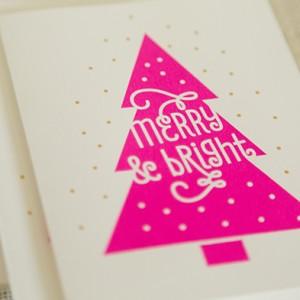 Screenprint Christmas Card