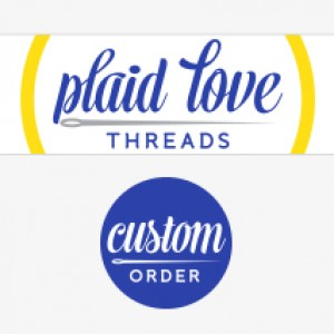 Plaid Love Threads Branding