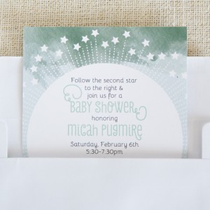 Peter Pan Baby Shower