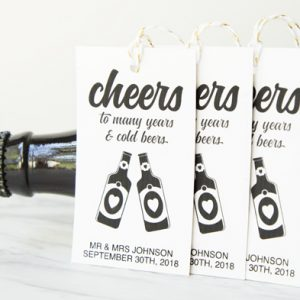 beer favor tags