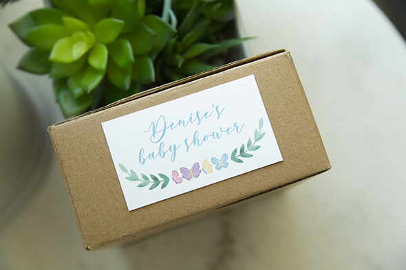butterfly box tags