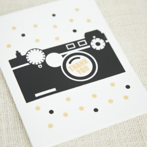 Faye Champlin Studio Thank You Card