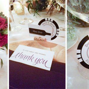 winery wedding decor